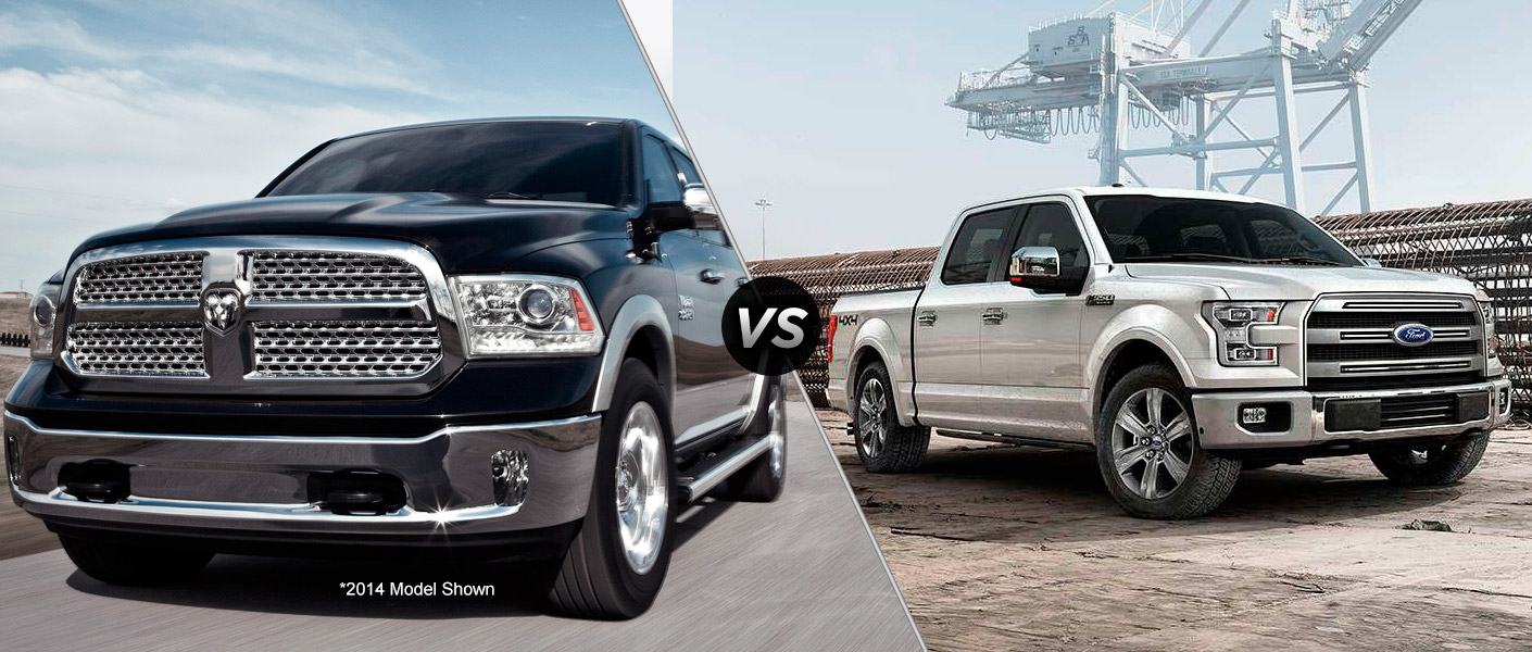 2015 Ford F-150 EcoBoost vs. the Ram 1500 EcoDiesel