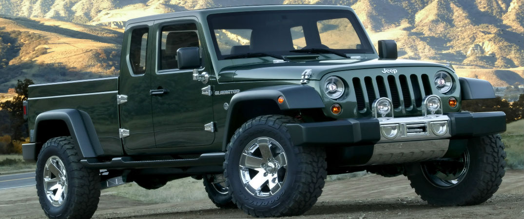Jeep takes a bold leap into pickup truck territory