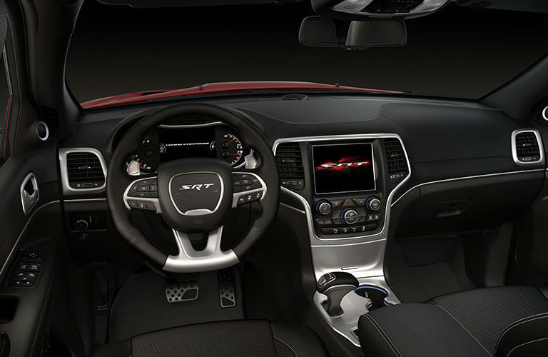 2017 Jeep Grand Cherokee Srt Black 200 Interior And Exterior Images