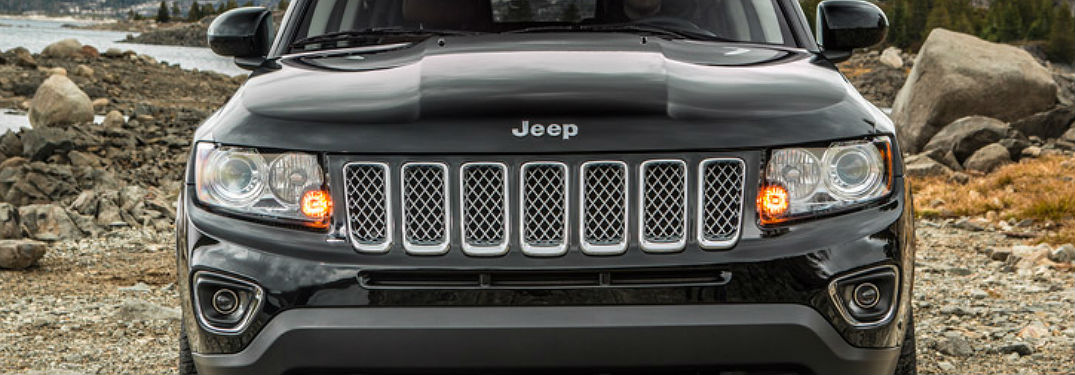 Jeep Cpmpass front grille view