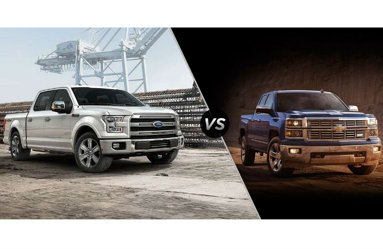 Ford F150 Vs Chevy Silverado >> 2015 Ford F 150 Vs Chevy Silverado In Grand Junction Co