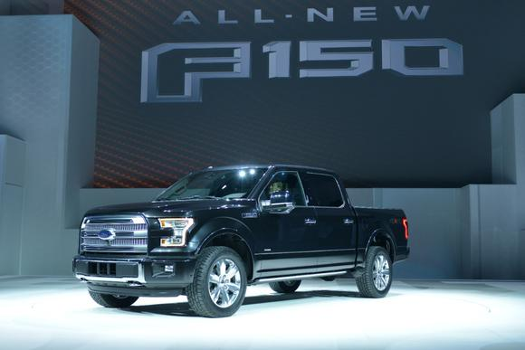 2015 Ford F 150 Loses Weight