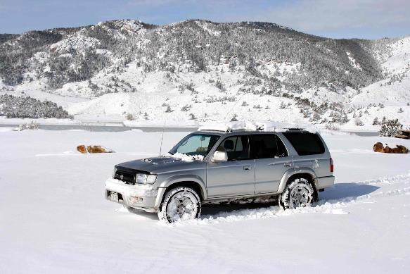 3 SUVs for winter driving