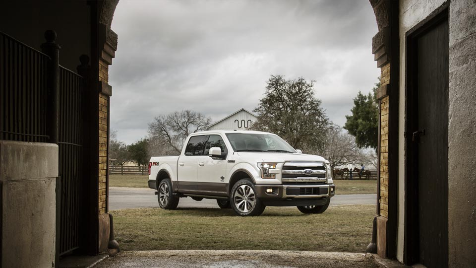 Best features of the 2015 Ford F150