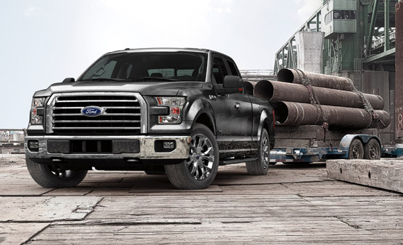 Test drive 2015 Ford F-150 Grand Junction
