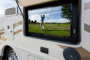 Ford Transit Winnebago Fuse Motorhome TV Screen