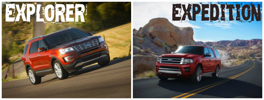 Differences Between The 2016 Ford Explorer And Expedition