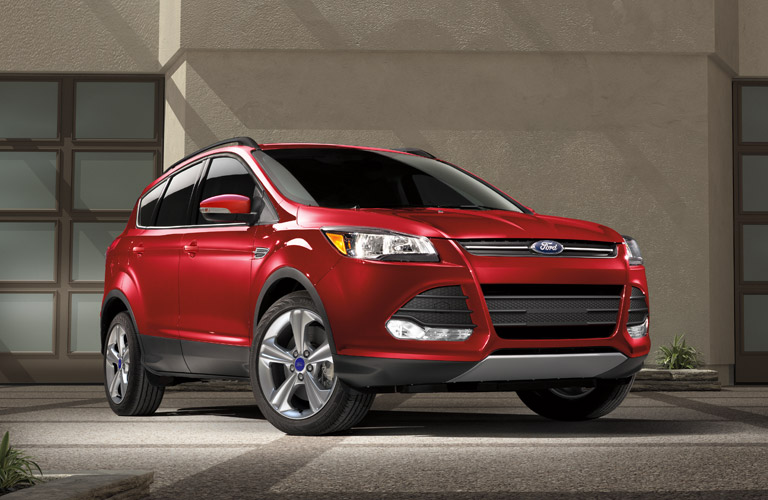 Red 2016 Ford Escape S