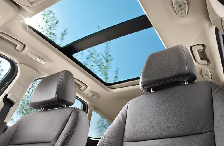 2016 Ford Escape with panoramic sunroof