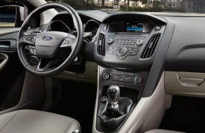 2016 Ford Focus Interior space and setup