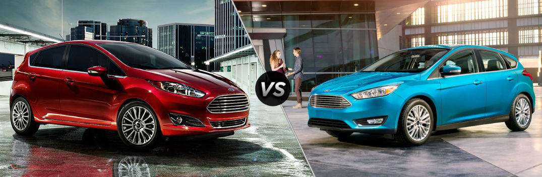 differences between the 2016 ford fiesta and ford focus. Black Bedroom Furniture Sets. Home Design Ideas