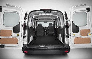 Ford Transit Connect Cargo Van Storage Capacity