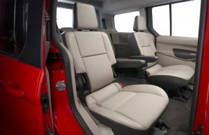 Ford Transit Connect Wagon Seating for 5 or 7