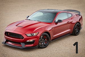 Ford Shelby GT350 Mustang Ruby Red Metallic