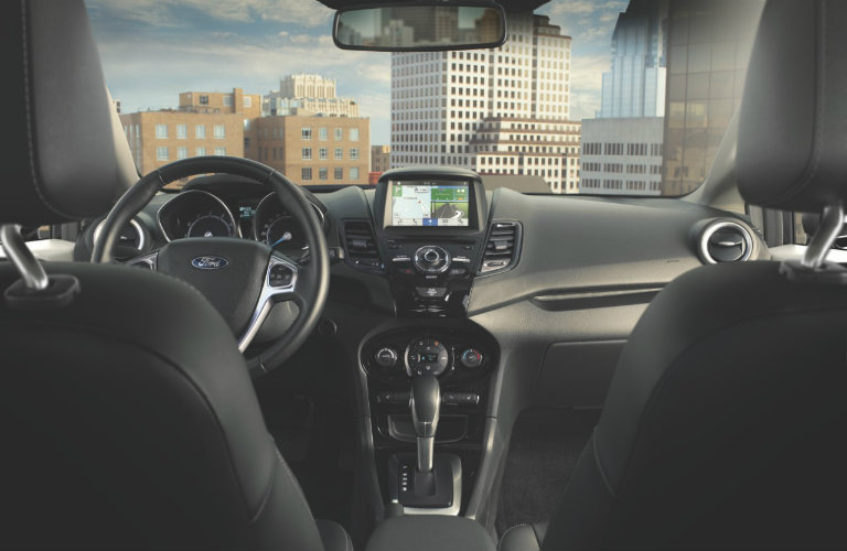 does the 2016 ford fiesta have a touchscreen