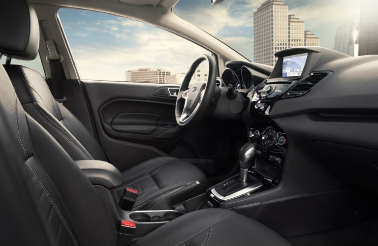 2016 ford fiesta interior color options