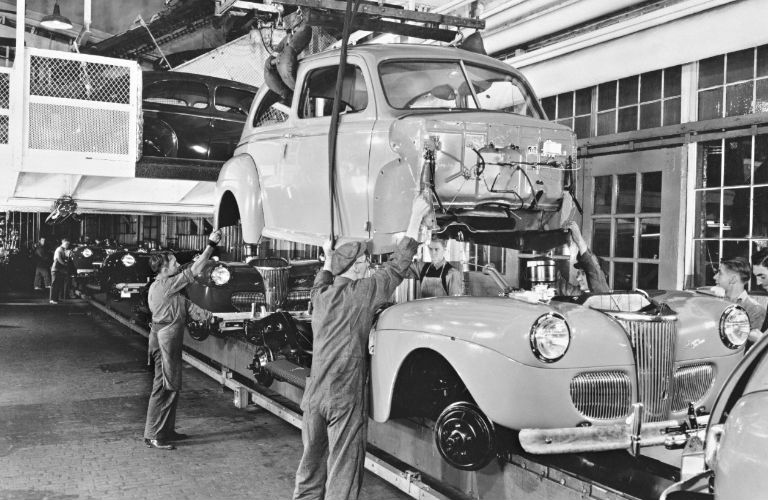 Ford Assembly Line History In Vintage Pictures