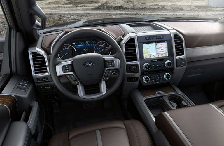 2017 Super Duty Command Center