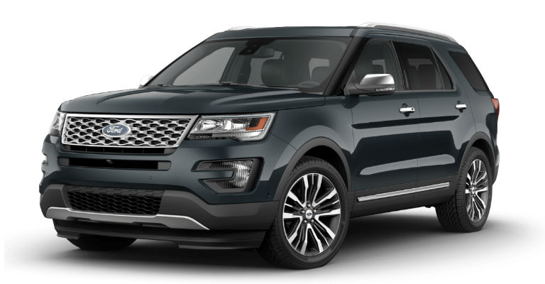 2017 Ford Colors >> 2017 Ford Explorer Exterior Color Options