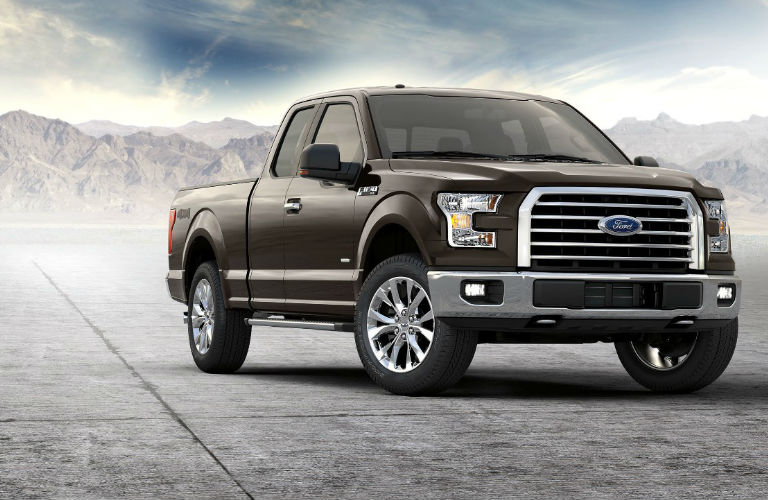 2017 F-150 in Brown