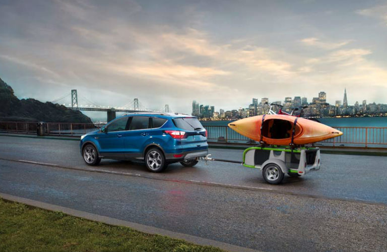 Escape Towing A Kayak