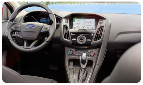 Which Features Come Standard With The 2017 Ford Focus Sel Trim