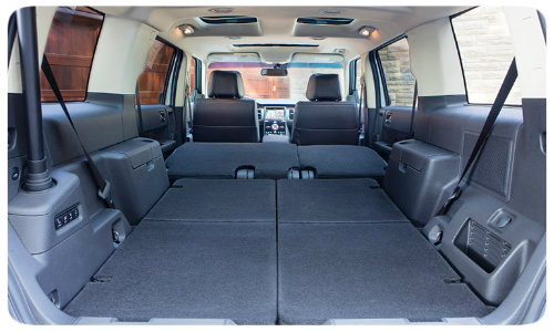 _ford_flex Seating  Ford Flex Comfort