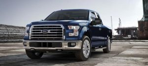 2017 Ford F-150 Lightning Blue