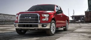2017 Ford F-150 Ruby Red
