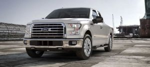 2017 Ford F-150 White Platinum