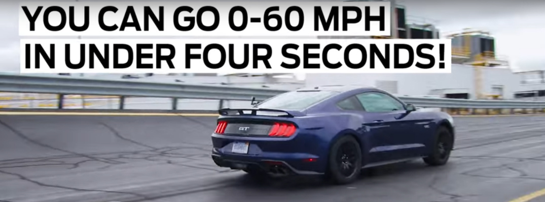 2018 Ford Mustang GT and Things You Can Do in Under Four Seconds