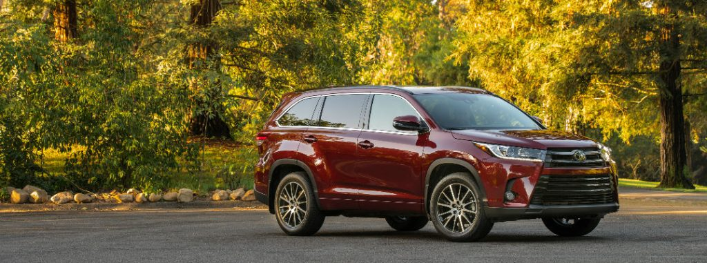 2017 Toyota Highlander Exterior Color Options