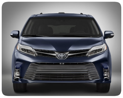 2018 Toyota Sienna front grille