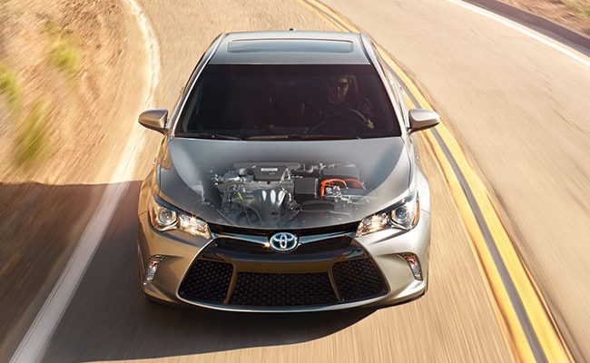 fuel economy rating of the 2016 toyota camry hybrid. Black Bedroom Furniture Sets. Home Design Ideas