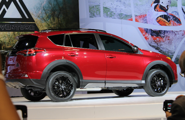 2018 Toyota Rav4 Adventure 2017 Chicago Auto Show Reveal