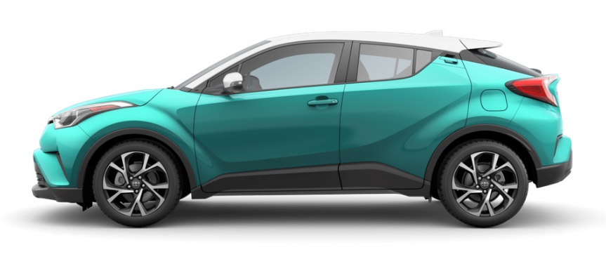 2018 Toyota C Hr Radiant Green Mica R Code Exterior Driver