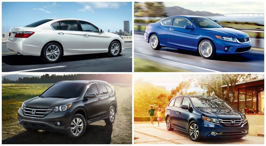 holiday savings event on select new honda vehicles in