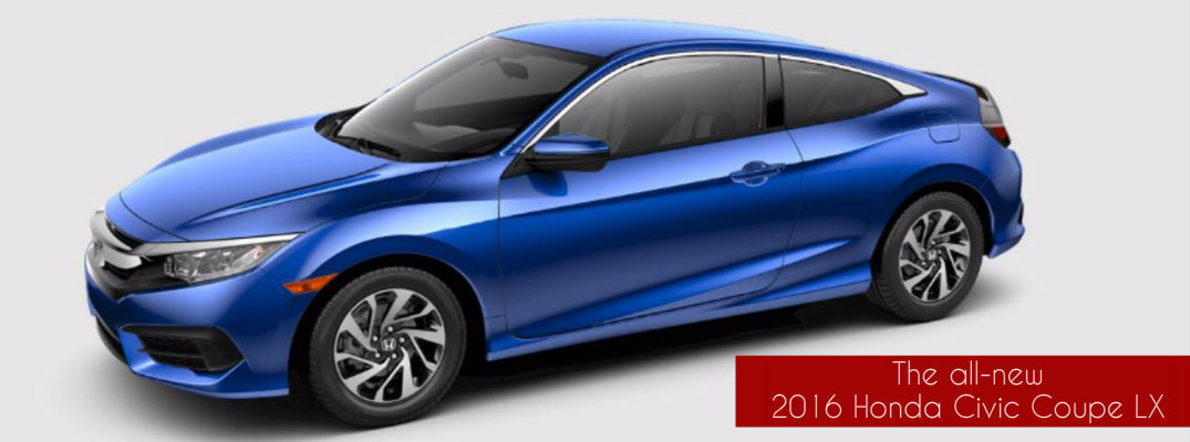 Which features come standard on the 2016 honda civic coupe for 2016 honda civic oil