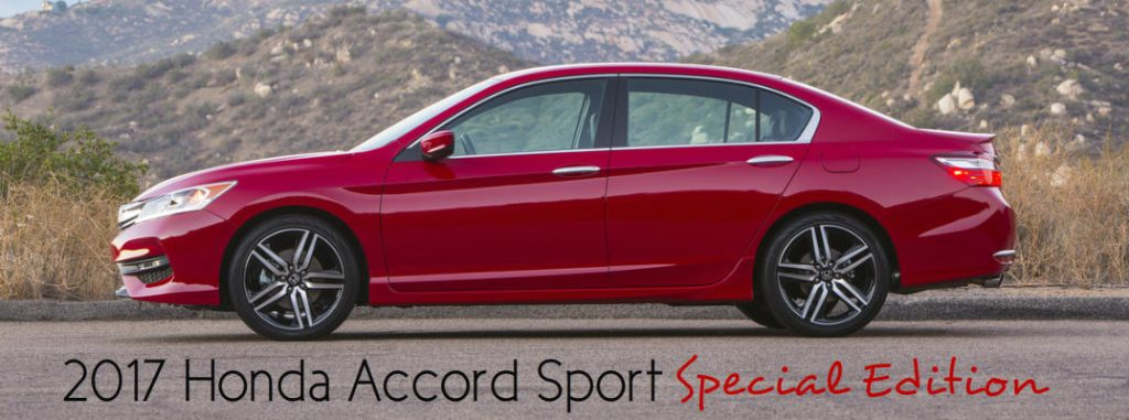 2017 Honda Accord Sport Special Edition Exclusive Features