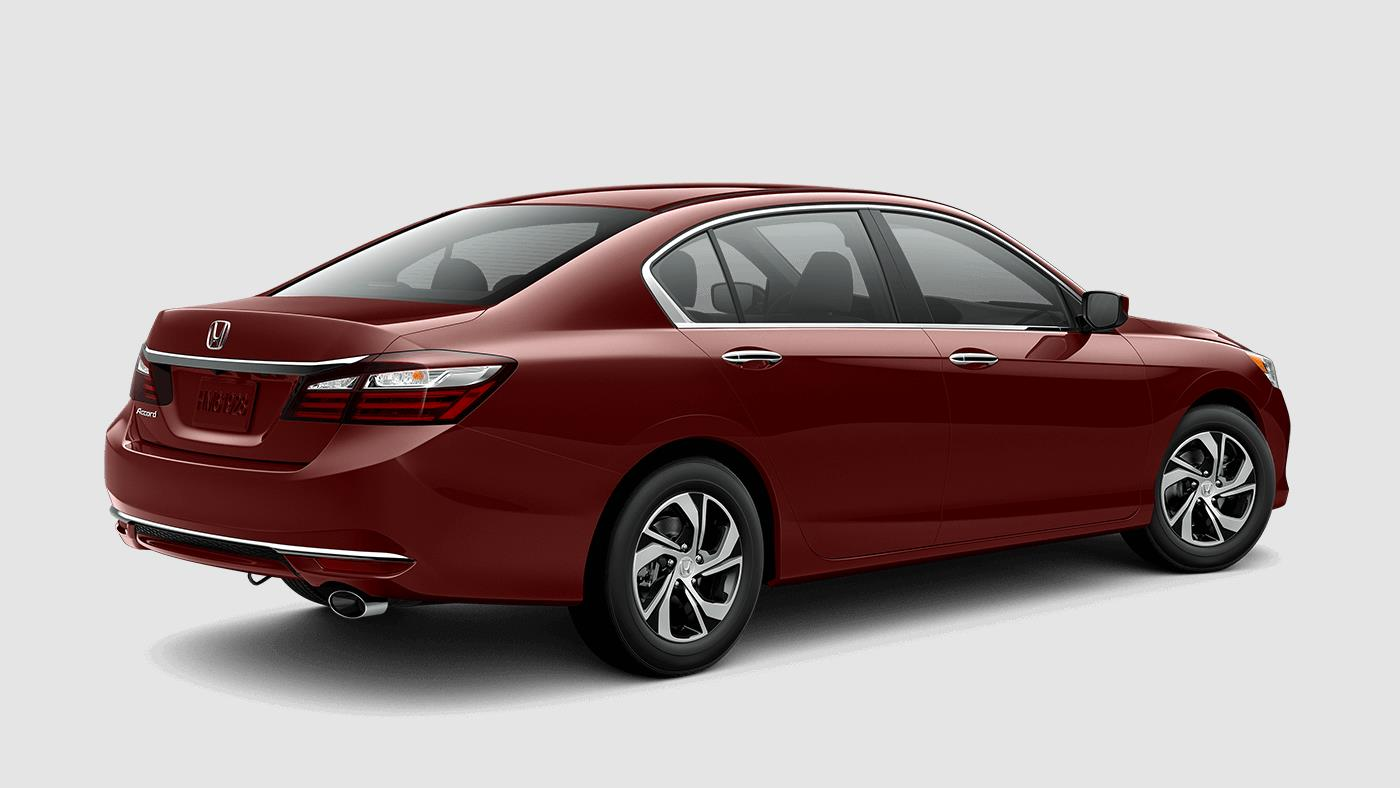 2017 Honda Accord Sedan color options