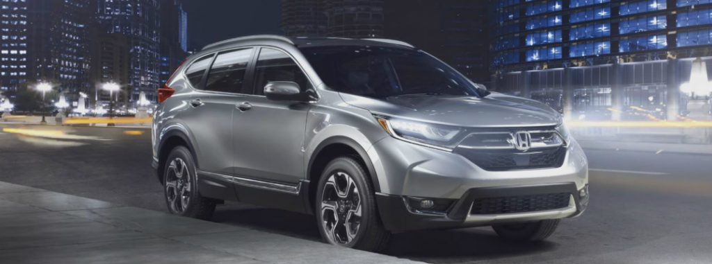 2017 Honda CR-V color options