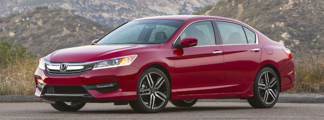 2017 Honda Accord Sedan Sport San Marino Red