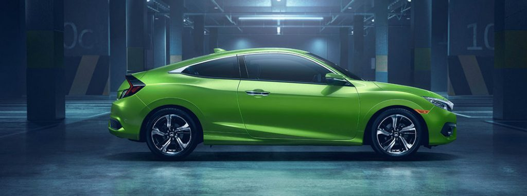 Does the honda civic coupe have a back seat for 2017 honda civic green