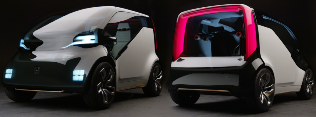 Honda NeuV Concept vehicle