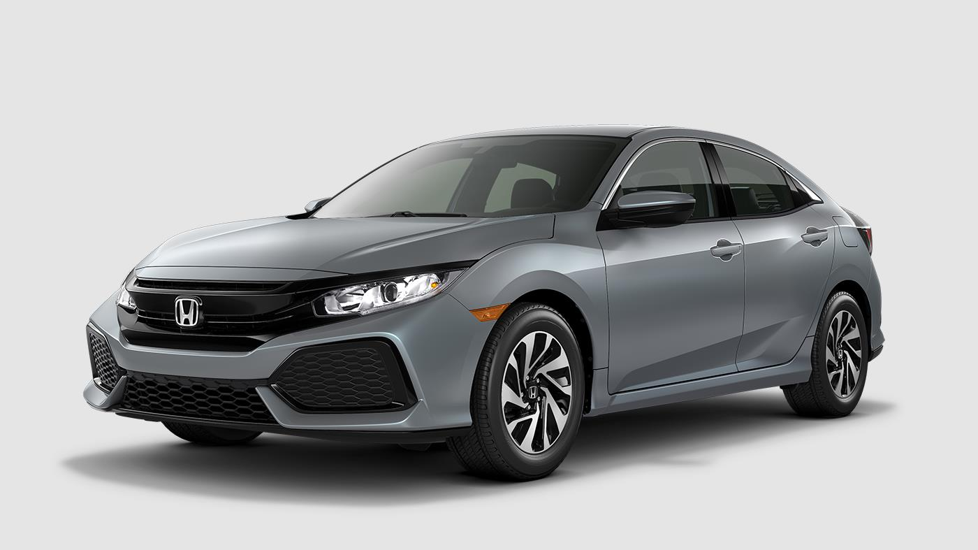 2017 honda civic hatchback color options