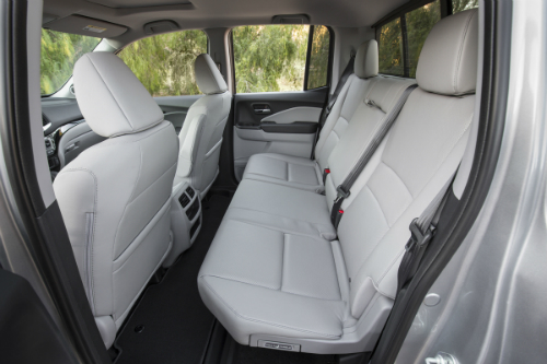Does The 2017 Honda Ridgeline Have A Leather Interior