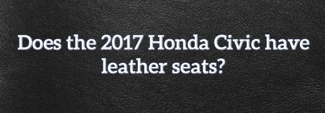 What is the difference between leather seats and leather-trimmed seats?