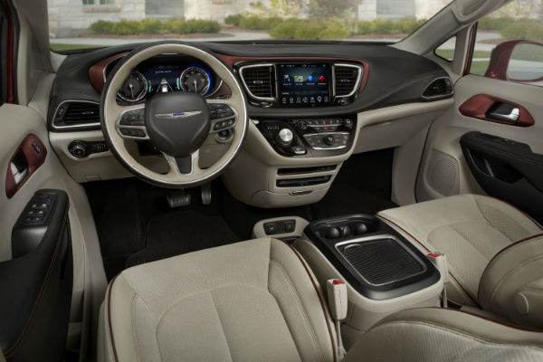 New Chrysler Pacifica Features and Options