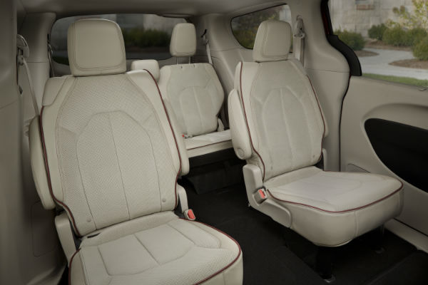 Seating are new Chrysler Pacifica