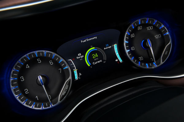 Driver information display new Chrysler Pacifica